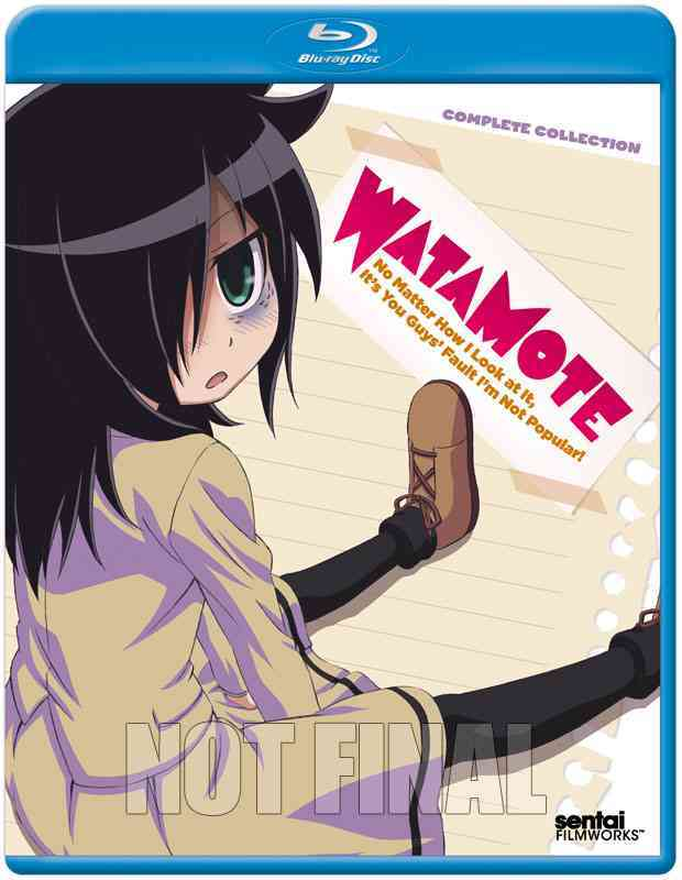 WATAMOTE:COMPLETE COLLECTION (Blu-Ray)